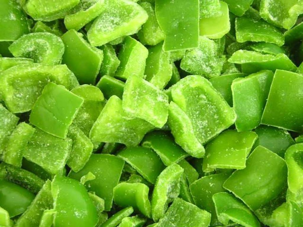 diced green pepper - photo #43